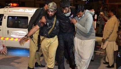 IS claims attack on Pakistan police academy