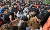 '10,000 apply' for China reception job