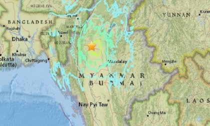 Earthquakes reported in Nicobar, Myanmar