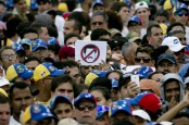 Large anti-Maduro protests fill the streets in Venezuela