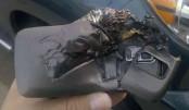 Burned in cellphone blast, man dies at DMCH