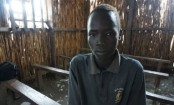 South Sudan boy who spent days hiding in a swamp