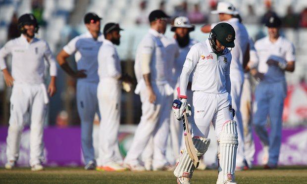 Bangladesh all out for 220 runs
