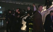 Trump running mate plane skids off runway