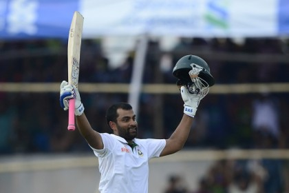 Tamim falls after eighth ton