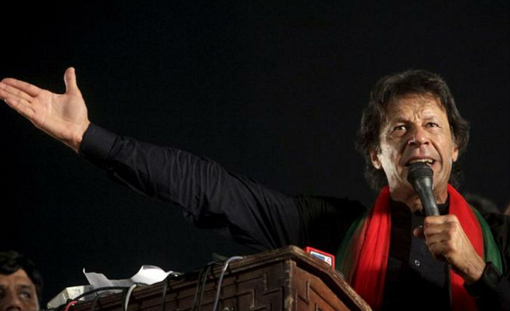 Nawaz Sharif pursuing Narendra Modi's interests in Pakistan: Imran Khan
