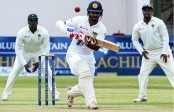Karunaratne ton edges Sri Lanka out of sight