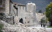Italy earthquake made ground move 70cm, say scientists