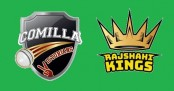 BPL: Rajshahi Kings win the toss and elected to field first