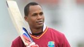 Samuels lands in Dhaka to play for Comilla Victorians