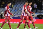 Atletico Madrid pay penalty in Real Sociedad defeat