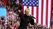 Lady Gaga closes Hillary campaign with call to civility