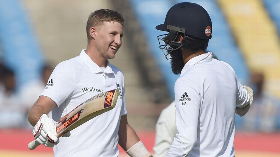 Root, Moeen give England strong start