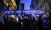 Thousands Rally, March In Nationwide Anti-Trump Protests