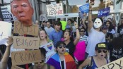 Anti-Trump protests in US enter 5th straight day
