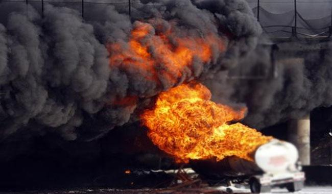 At least 73 killed in fuel truck explosion in Mozambique