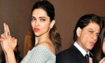 Shah Rukh Khan visits Deepika Padukone on SLB's set