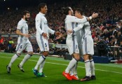 Cristiano Ronaldo hat trick gives Real Madrid derby win as Atletico flounder