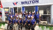Walton returns from Nigeria with tremendous success