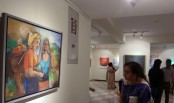 Int'l group art exhibition kicks off on Monday