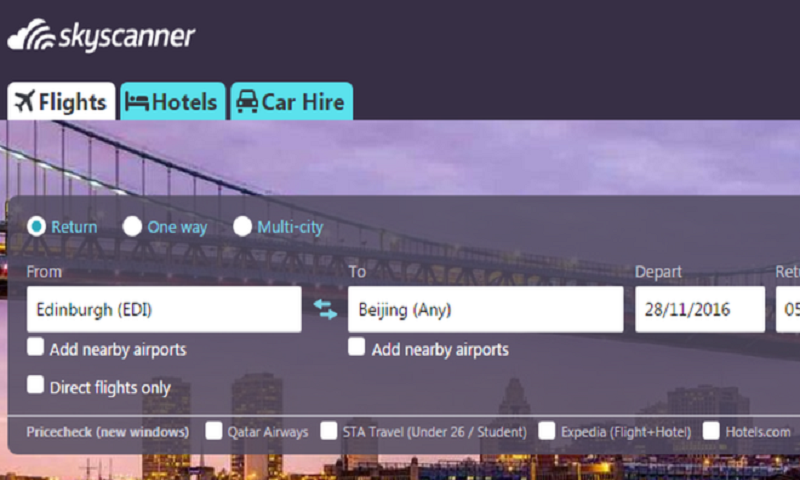Skyscanner sold to China's Ctrip
