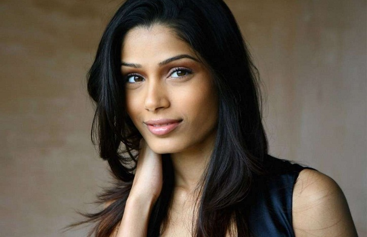 Only story is matter for Freida Pinto