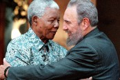 Fidel Castro over the years with foreign leaders (Seven pics)
