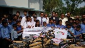Mutual Trust Bank distributes 50 bicycles in Khulna