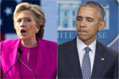 Obama urged Clinton to concede on Election Night