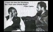 Fidel Castro and  Bangabandhu