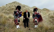 Trump Built a Wall in Scotland, Then Sent Residents the Bill