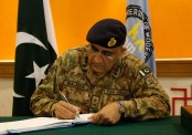 General Qamar Javed Bajwa appointed as Pakistan Army chief