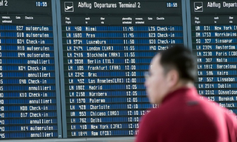 Germany 39 s lufthansa cancels 890 flights as strike for Lufthansa direct flights to germany
