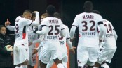 Nice win at Guingamp to return to top of Ligue 1, PSG move up to second