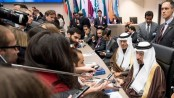Opec countries agree first oil output cut in eight years