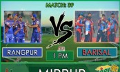 Barisal to play Rangpur in their last match