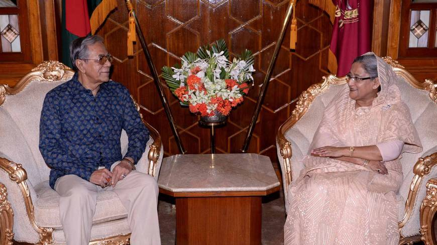 PM to call on President today