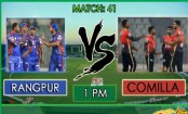 Comilla will play Rangpur in their last match