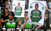 Chapecoense plane crash: Fans unite for stadium memorial