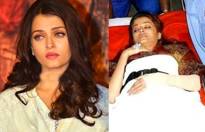 Aishwarya Rai tried to commit suicide video goes viral on social media but found baseless (Video)