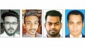 Police hunt for 4 missing youths