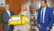 NRB Global Bank donated blankets for PM's relief fund