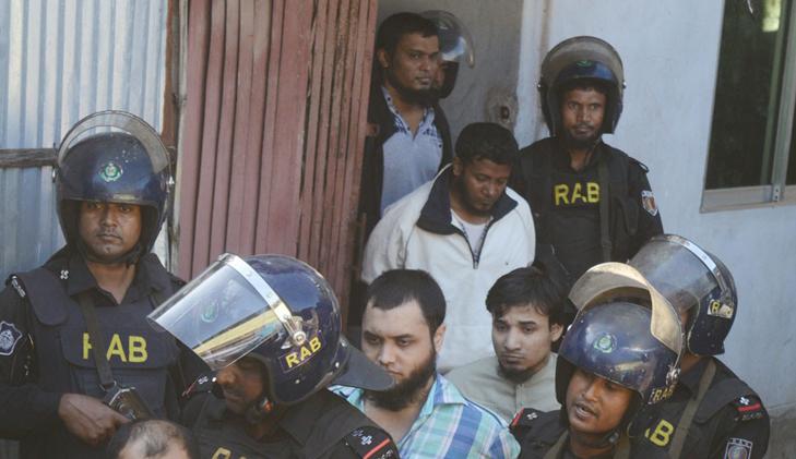 Police file cases against five 'Huji men' held in Chittagong raid