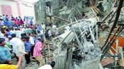 Three killed in Hyderabad building collapse, many feared trapped