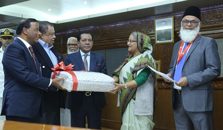 UCB donates blankets to PM's Relief Fund