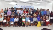 Standard Chartered Bank awarded Governor Scholarship to 68 DU students
