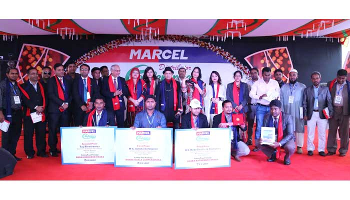 Cheap rates, highest standard of Marcel products draw customers' attention