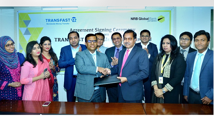 NRB Global Bank launches TRANSFAST Remittance LLC at all outlets