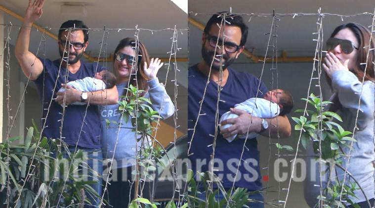 Saifeena's first official photo with baby Taimur is out