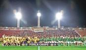 Stars honouring Chapecoense  in charity match